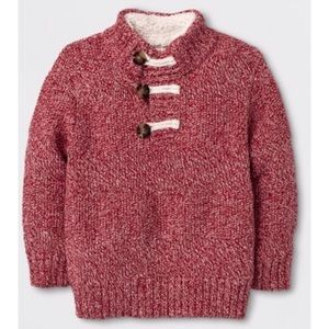 3T boys' cable knit sweater